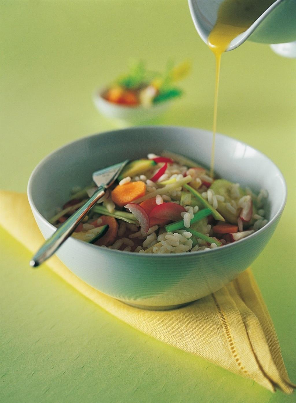 Insalata dietetica di riso