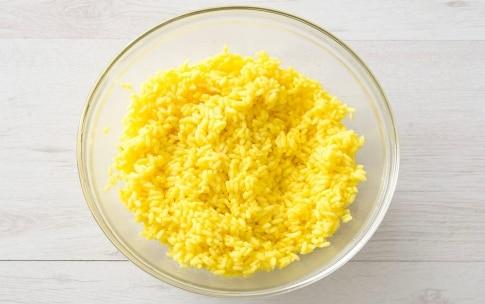 Preparazione Insalata di riso e pollo con zenzero e zafferano - Fase 2