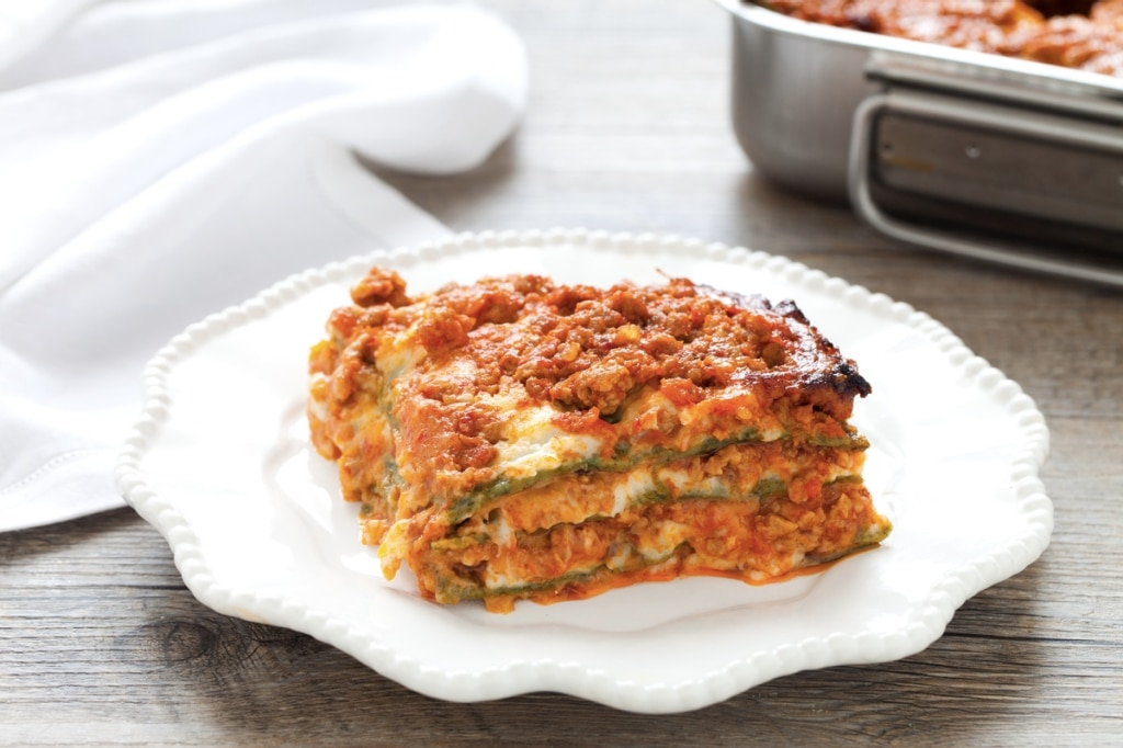 Ricetta lasagne alla bolognese cucchiaio d 39 argento for Ricette di cucina particolari