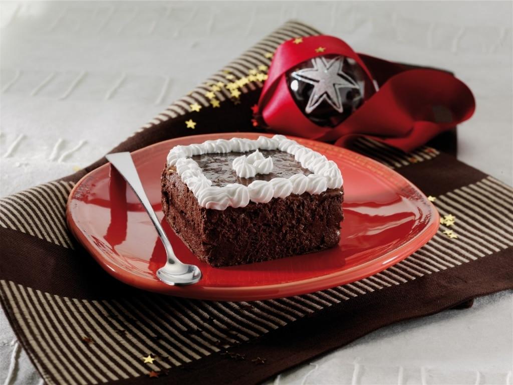 Mattonella al cioccolato e gelatina di arancia