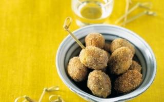 Palline di riso e olive