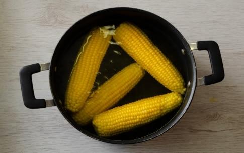 Preparazione Pannocchie al burro - Fase 1