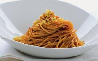 Spaghettini alle acciughe