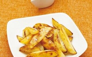 Patate croccanti con crema di rafano