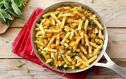 Preparazione Penne con lenticchie e ragù di verdure - Fase 5