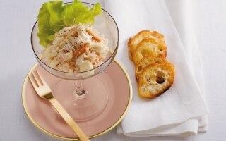Polpa di granchio alla senape composta