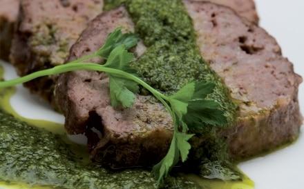 Polpettone con salsa verde