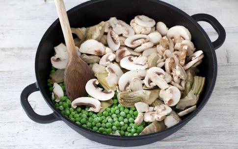 Preparazione Riso gratinato con verdure - Fase 1