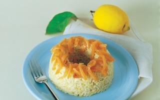Risotto al salmone e limone