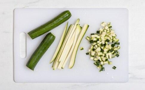 Preparazione Risotto alle zucchine - Fase 2