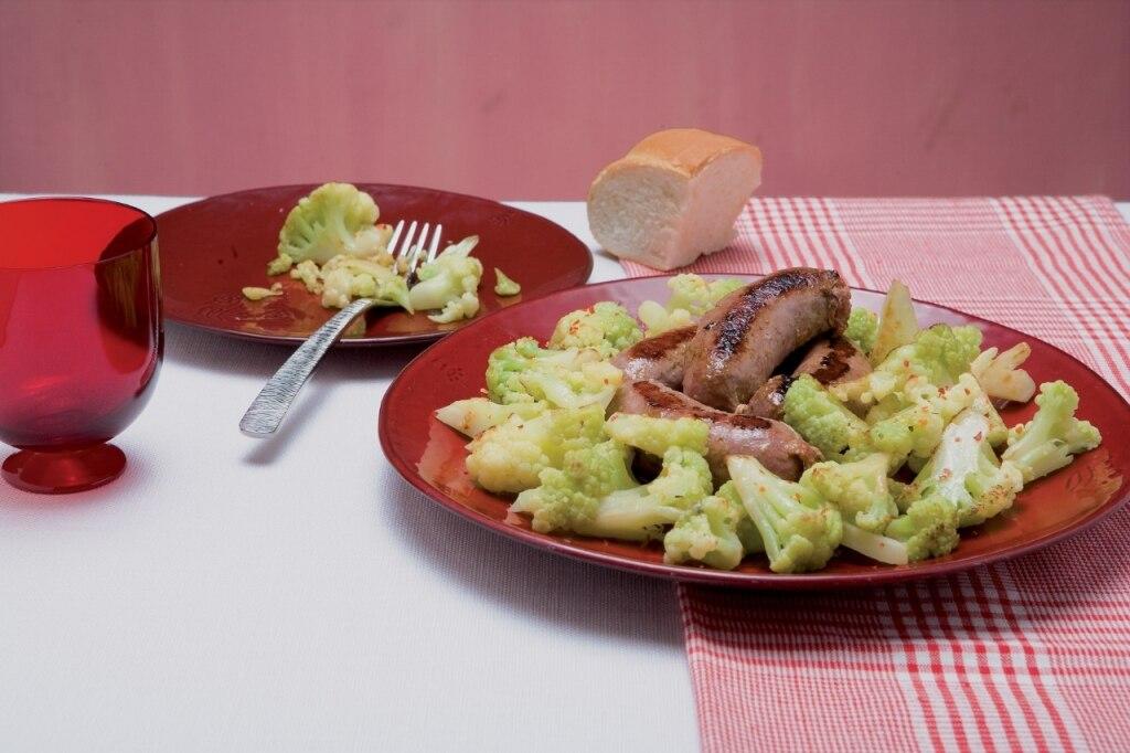 Salsicce con broccoli