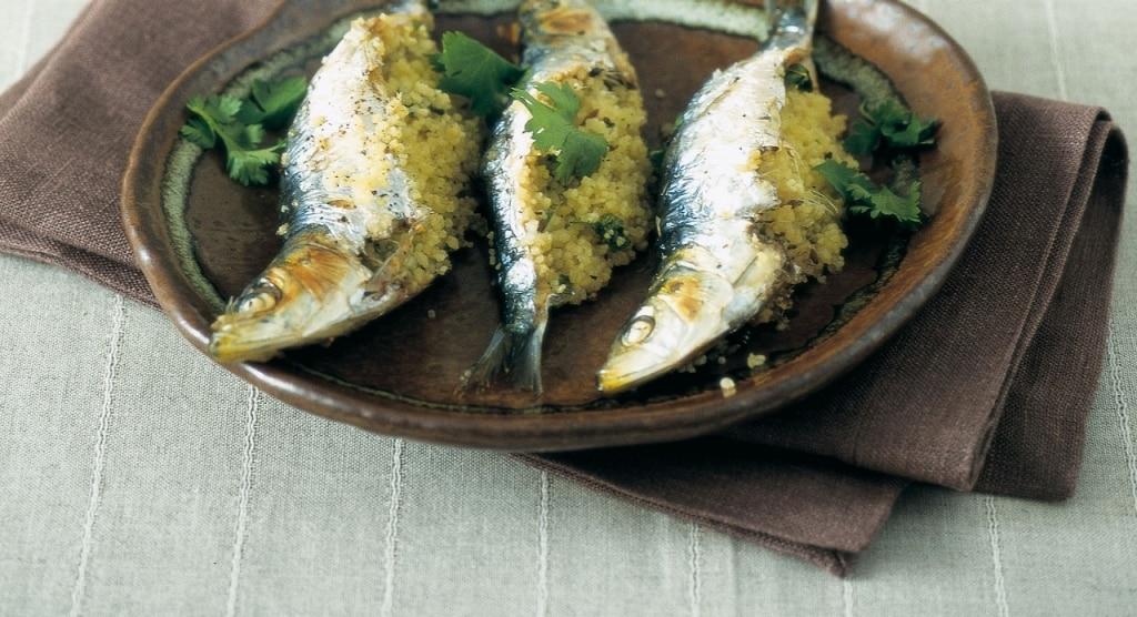 Sardine farcite