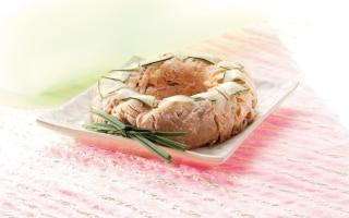 Sformato di pasta al salmone