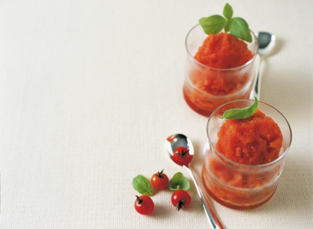 Sorbetto al pomodoro