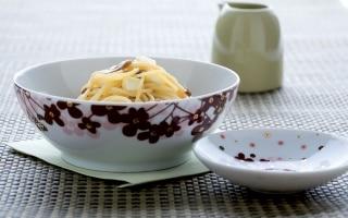 Spaghetti alla mozzarella
