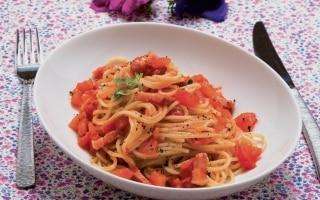 Spaghetti con il rancetto