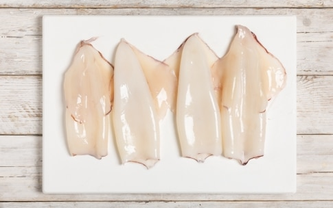 Preparazione Calamari e patate al forno - Fase 2