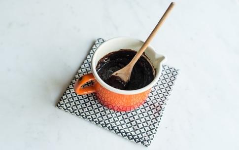 Preparazione Torta al cioccolato fondente - Fase 1