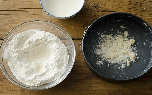 Preparazione Torta fregolotta - Fase 2
