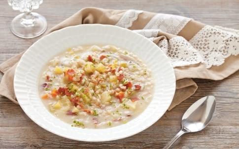 Preparazione Zuppa d'orzo - Fase 4