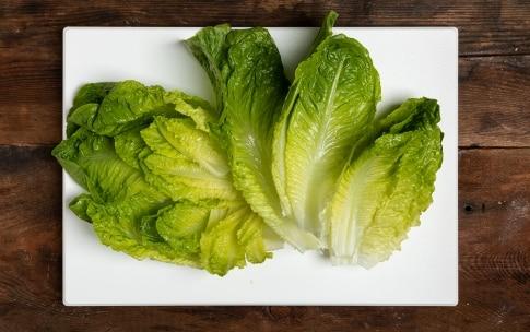 Preparazione Caesar salad - Fase 1
