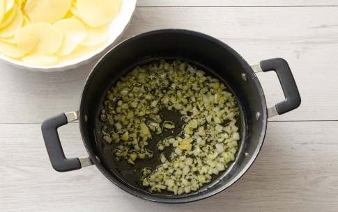 Preparazione Fagiolini e patate - Fase 1