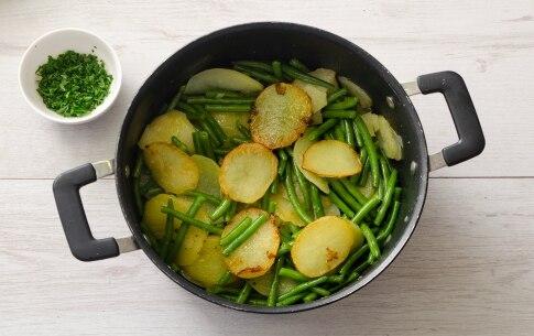 Preparazione Fagiolini e patate - Fase 3