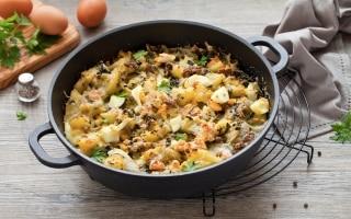 Pasticcio di bietole e patate