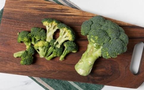 Preparazione Rigatoni con i broccoli - Fase 1