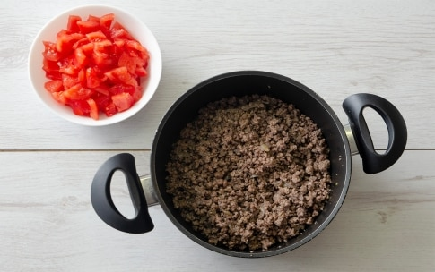 Preparazione Timballo di riso al forno con polpette - Fase 1