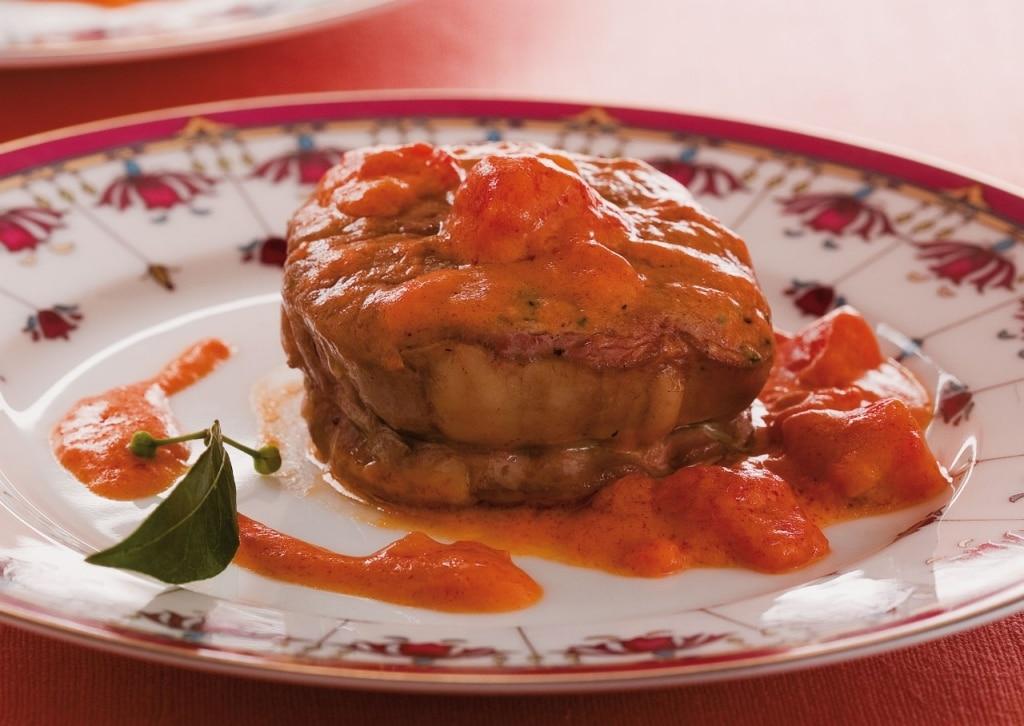 Filetto di bue in salsa piccante