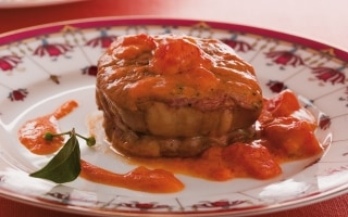 Filetto di bue in salsa piccante