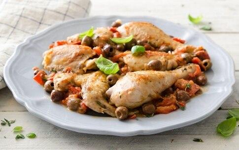 Preparazione Pollo alle olive - Fase 3