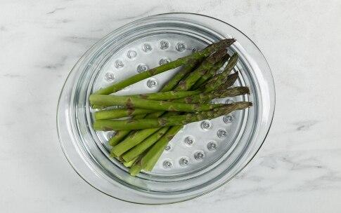 Preparazione Risotto con asparagi e pancetta - Fase 1