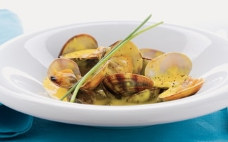 Vongole in fricassea