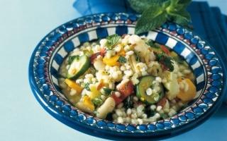 Orzo e fagioli alla menta - Marocco