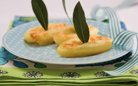 Patate con gratin di fontina