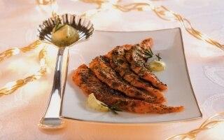 Salmone croccante al rosmarino