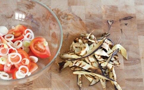 Preparazione Insalata di melanzane alla menta - Fase 2
