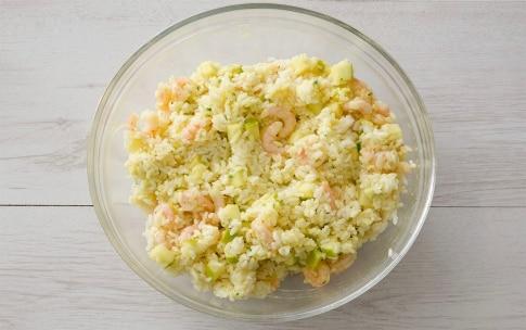 Preparazione Insalata di riso, gamberetti e mele verdi - Fase 3