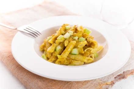 Penne in insalata al curry