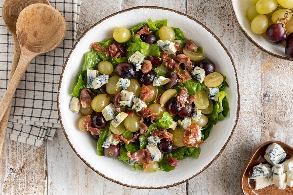 Insalata di uva e gorgonzola