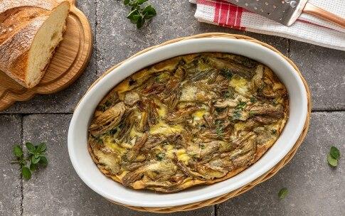 Preparazione Torta di uova e carciofi alla toscana - Fase 5