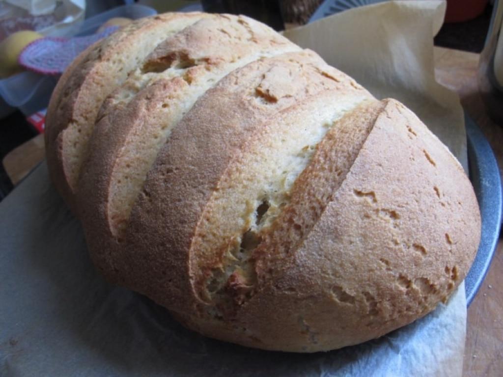 Pane rustico di semola rimacinata di grano duro pugliese