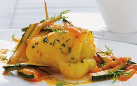 Filetti di sogliola all'arancia