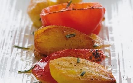 Patate e pomodori arrosto