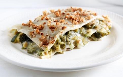 Preparazione Lasagne con broccoli e zucchine - Fase 6