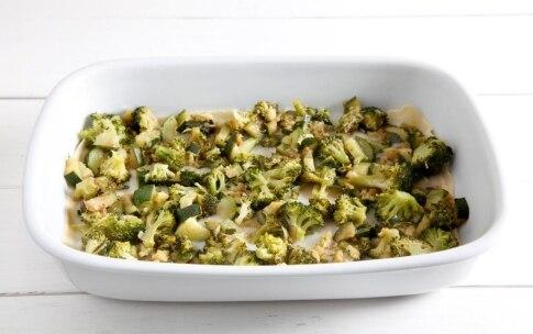 Preparazione Lasagne con broccoli e zucchine - Fase 4