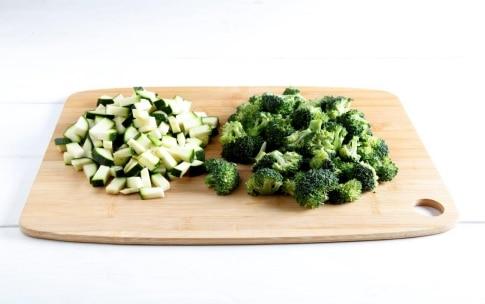 Preparazione Lasagne con broccoli e zucchine - Fase 2