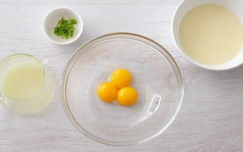 Preparazione Crostata cheesecake al lime e pinoli - Fase 2
